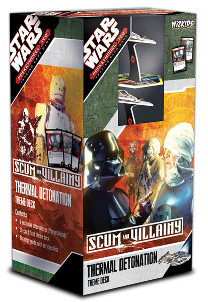 Image: Star Wars Pocketmodel TCG: Scum & Villainy Theme Deck Display  - Wizkids LLC