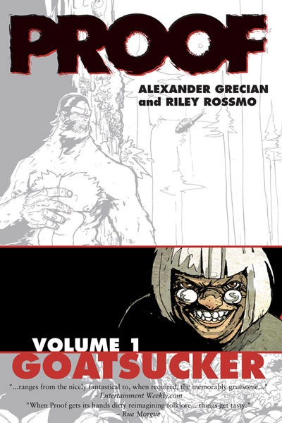 Image: Proof Vol. 01: Goatsucker SC  - Image Comics