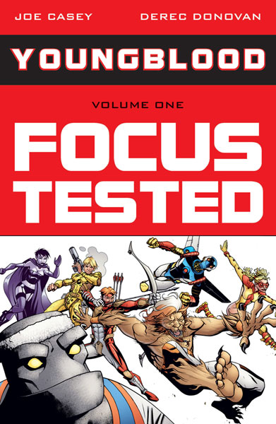 Image: Youngblood Vol. 01: Focus Tested SC  - Image Comics