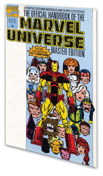 Image: Essential Official Handbook of the Marvel Universe - Master Ed. Vol. 02 SC  - Marvel Comics