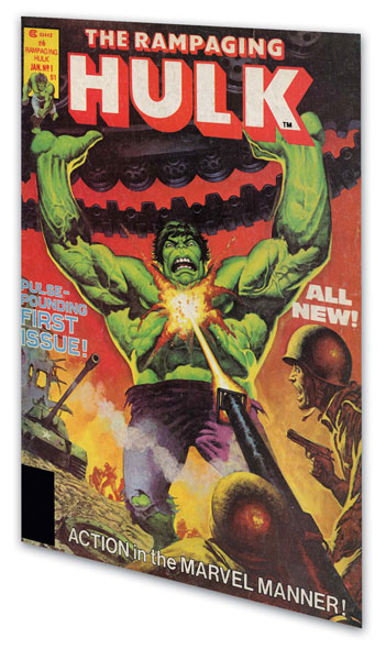 Image: Essential Rampaging Hulk Vol. 01 SC  - Marvel Comics
