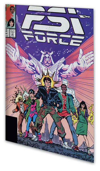 Image: Psi-Force Classic Vol. 01 SC  - Marvel Comics