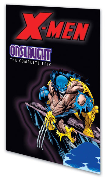 Image: X-Men: The Complete Onslaught Epic Book 02 SC  - Marvel Comics