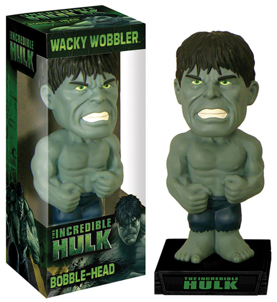 Image: Incredible Hulk Wacky Wobbler Bobble-Head  -