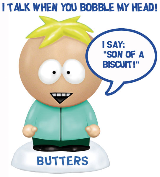 Image: South Park Talking Bobblehead: Butters  -