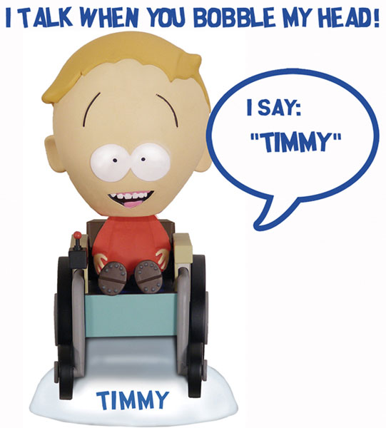 Image: South Park Talking Bobblehead: Timmy  -