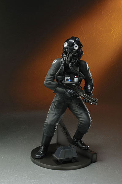 Image: Star Wars Tie Fighter Pilot Artfx Statue  -