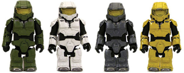 Image: Halo 3 Master Chief Kubrick Collector's Set  -