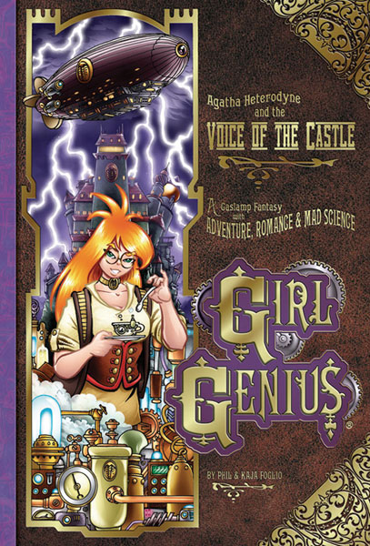 Image: Girl Genius Book 07: Agatha Heterodyne and the Voice of the Castle SC  - Airship Entertainment
