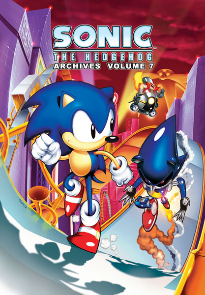 Image: Sonic the Hedgehog Archives Vol. 07 SC  - Archie Comic Publications