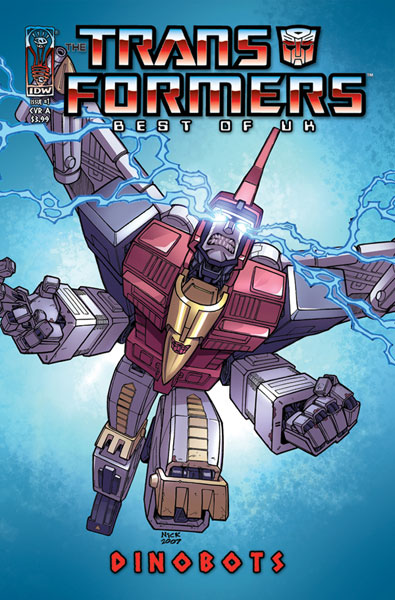 Image: Transformers: Best of the U.K. - Dinobots SC  - IDW Publishing