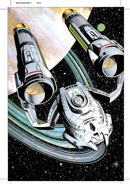 Image: Star Trek: New Frontier #3 - IDW Publishing