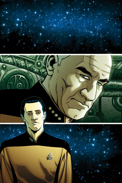Image: Star Trek: TNG - Intelligence Gathering #5 - IDW Publishing