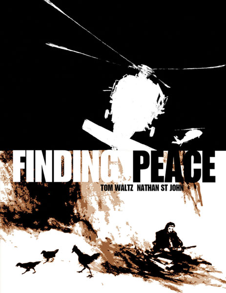 Image: Finding Peace SC  - IDW Publishing