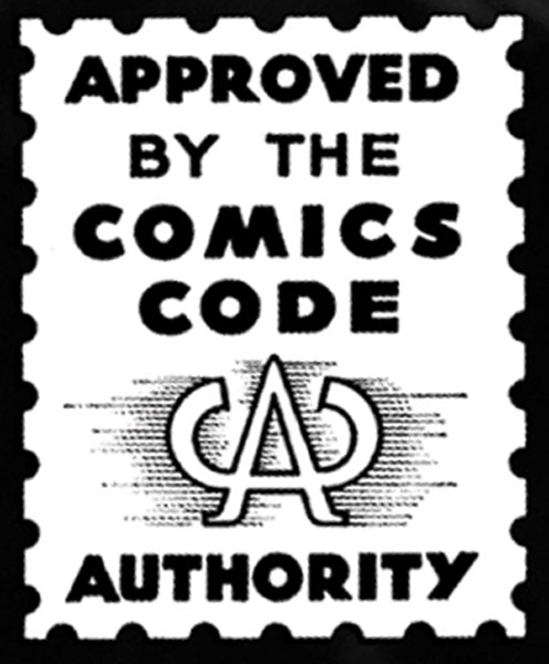 Comic Book Authority T-Shirt (Black-L)