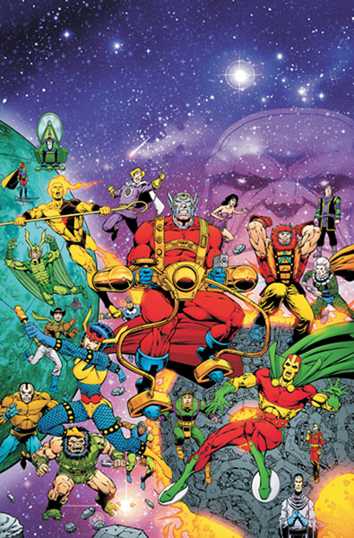 Image: Death of the New Gods HC  - DC Comics