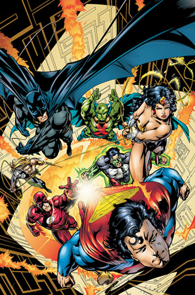 Image: JLA Vol. 01: The Deluxe Edition HC  - DC Comics