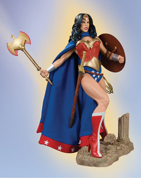 Image: Wonder Woman 1:4 Scale Museum Quality Statue  -