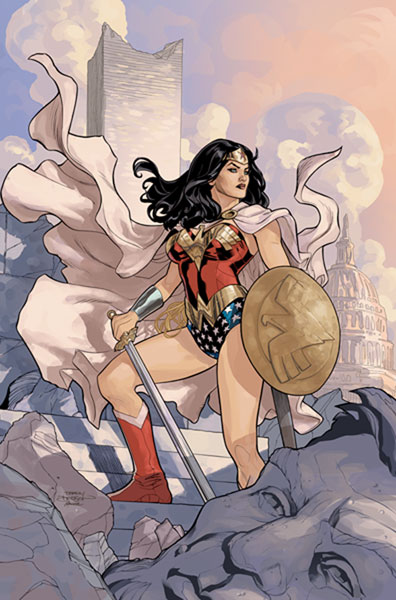 Image: Wonder Woman #13 Poster  -