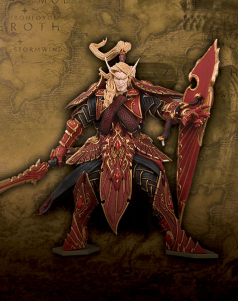 Image: World of Warcraft Series 3 Action Figure: Blood Elf Paladin  -