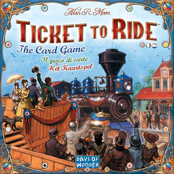 Image: Ticket to Ride: The Card Game  - Days Of Wonder