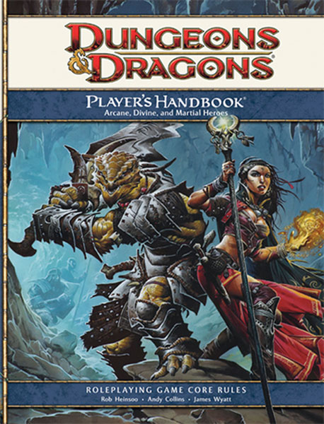 Image: Dungeons & Dragons Player's Handbook HC  - Wizards of the Coast