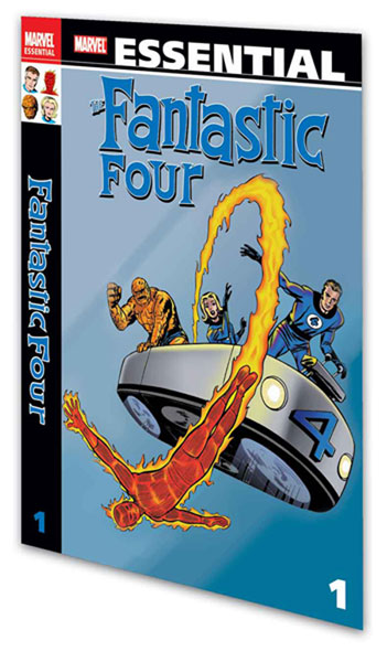 Image: Essential Fantastic Four Vol. 01 SC  - Marvel Comics