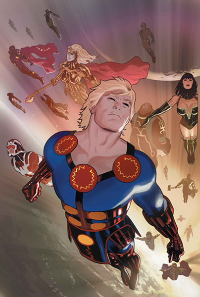 Image: Eternals #1 - Marvel Comics