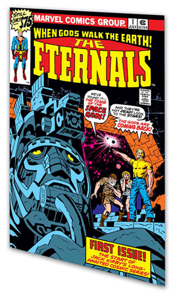Image: The Eternals  (Kirby) Book 01 SC - Marvel Comics