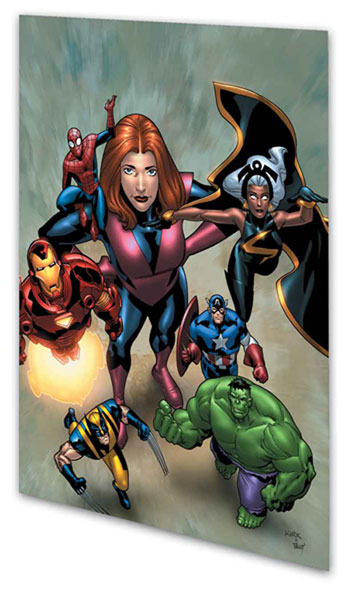 Image: Marvel Adventures Avengers Vol. 06: Mighty Marvels  (digest) - Marvel Comics