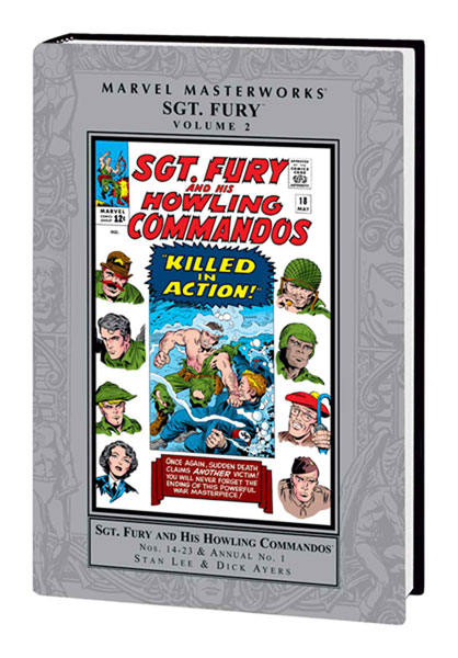 Image: Marvel Masterworks: Sgt. Fury Vol. 02 HC  - Marvel Comics