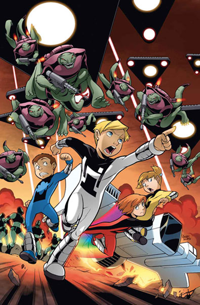Image: Power Pack: Day One #4 - Marvel Comics