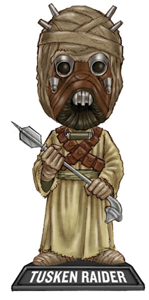 Image: Star Wars Tusken Raider Bobble-Head  -