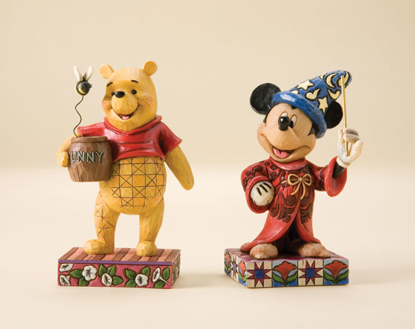 Image: Disney Traditions Figurine: Touch of Magic  -