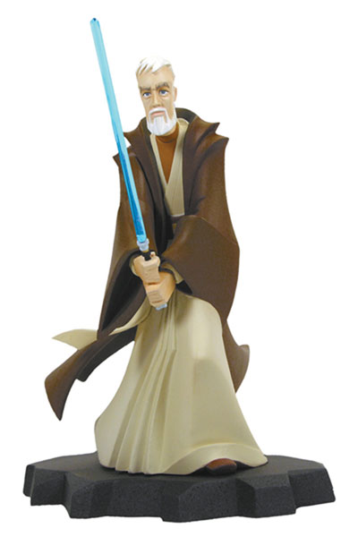 Image: Star Wars Animated Ltd. Ed. Maquette: A New Hope Obi-Wan Kenobi  -