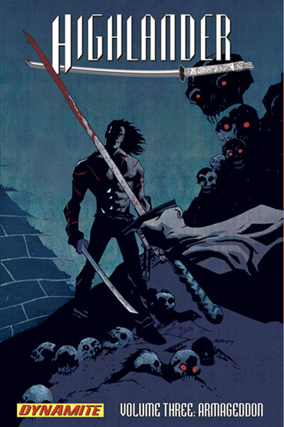 Image: Highlander 03: Armageddon SC  - D. E./Dynamite Entertainment