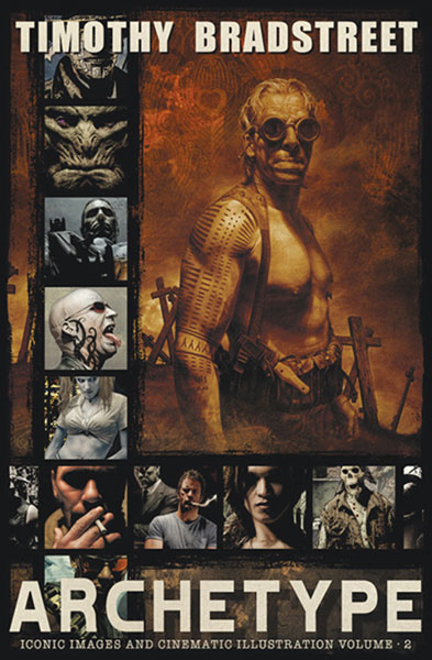 Image: Archetype: Art of Tim Bradstreet HC  - Desperado Publishing