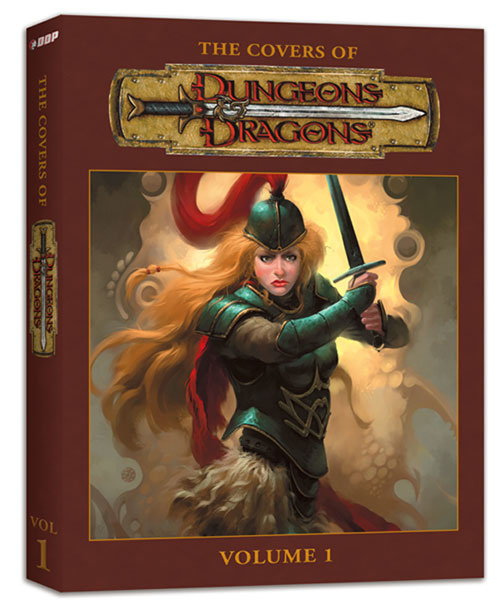 Image: Comic Cover Art of Dungeons & Dragons Vol. 01 HC  - Devil's Due Publishing Inc