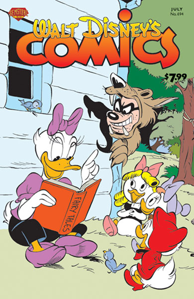 Image: Walt Disney's Comics & Stories #694 - Gemstone Publishing