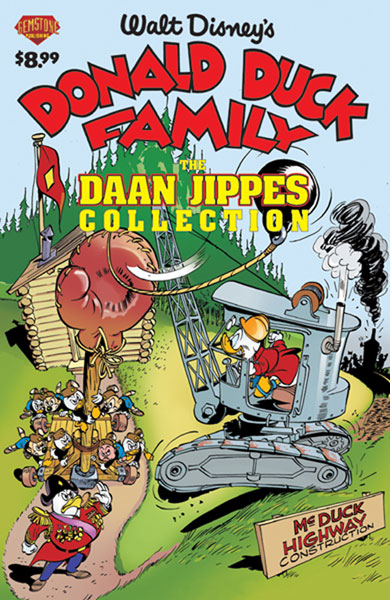 Image: Donald Duck Family: Daan Jippes Collection Vol. 01 SC  - Gemstone Publishing