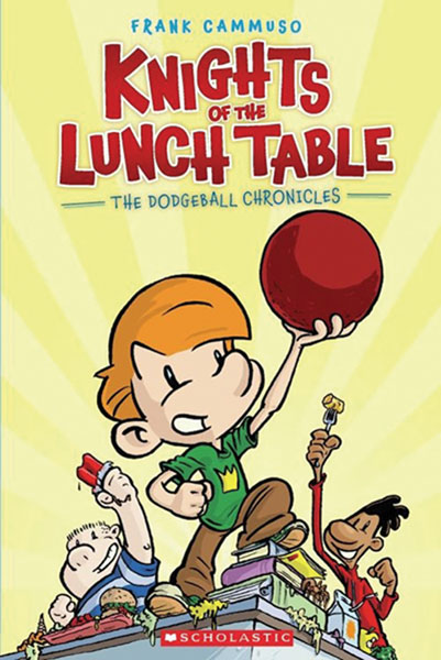 Image: Knights of the Lunch Table: The Dodgeball Chronicles SC  - Graphix