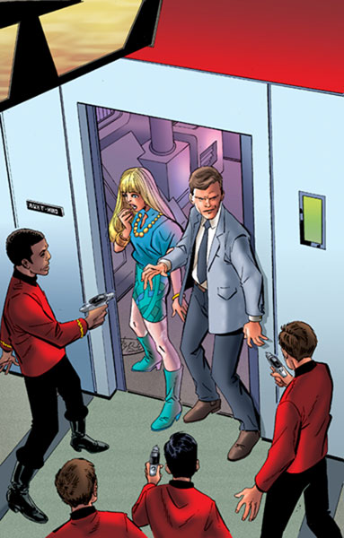 Image: Star Trek: Assignment Earth #2 - IDW Publishing