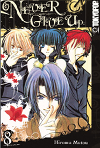 Image: Never Give Up Vol. 08 SC  - Tokyopop
