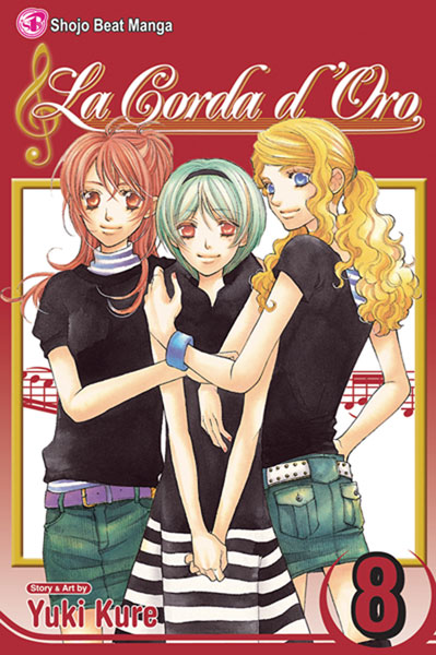 Image: La Corda Doro Vol. 08 SC  - Viz Media LLC
