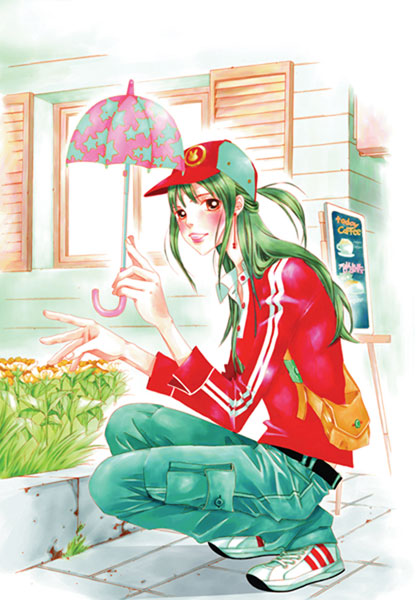 Image: Hissing Vol. 04 SC  - Yen Press