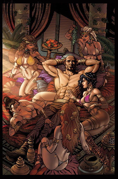 Image: 1001 Arabian Nights: Adventures of Sinbad #2 - Zenescope Entertainment Inc