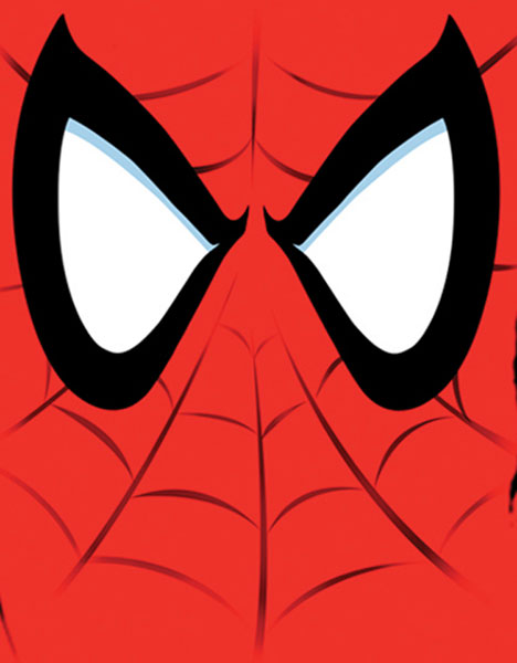 Image: Spider-Man T-Shirt: 'Eye of the Spider' Red  (M) -