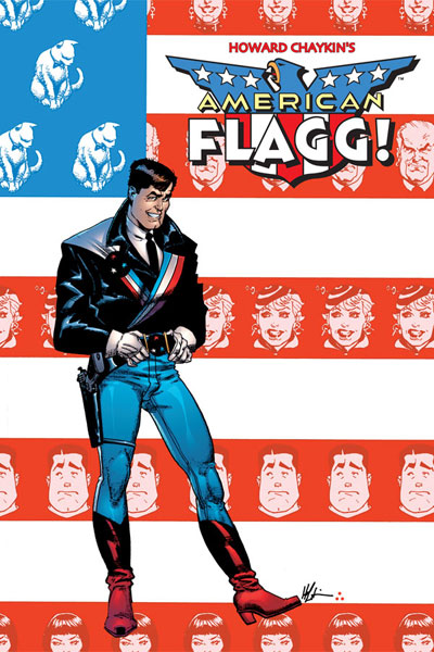 Image: American Flagg! Definitive Collection Vol. 01 HC   - Image Comics