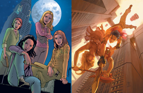 Image: Buffy the Vampire Slayer #16 (Chen Cover) - Dark Horse