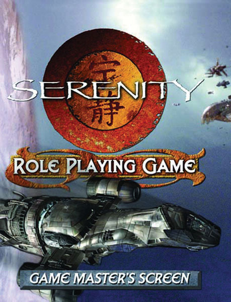 Image: Serenity Role Playing Game Game Master's Screen  - Margaret Weis Productions